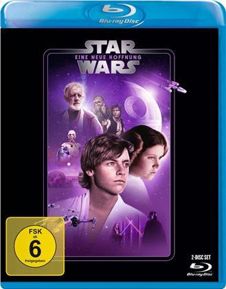 Star Wars - Episode 4 - Eine neue Hoffnung (1977) (Line Look, 2 Blu-rays)