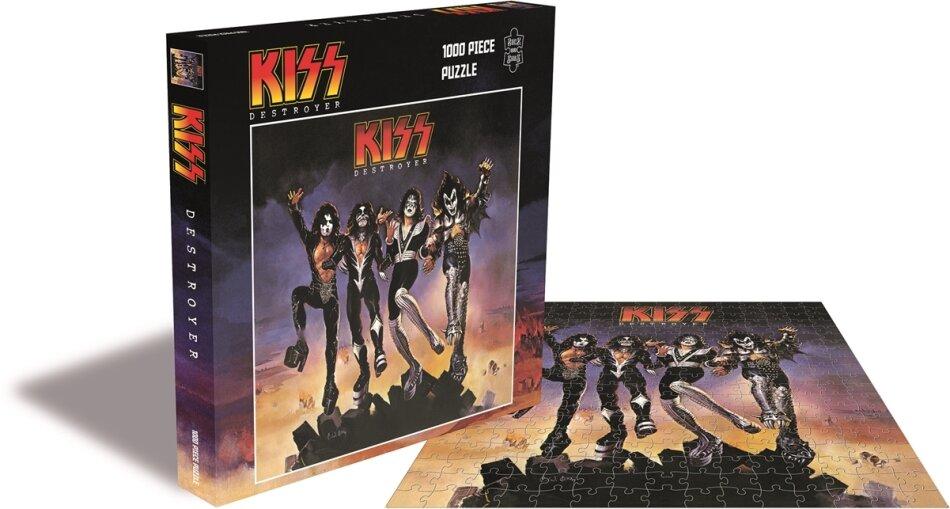Kiss: Destroyer - 1000 Piece Jigsaw Puzzle