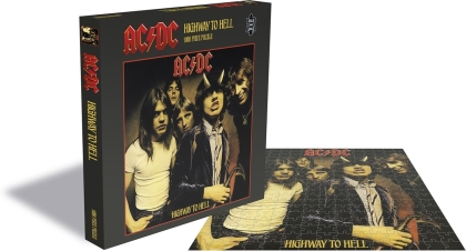 AC/DC: Highway To Hell - 1000 Piece Jigsaw Puzzle