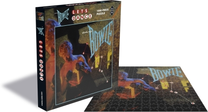 David Bowie: Let's Dance - 1000 Piece Jigsaw Puzzle