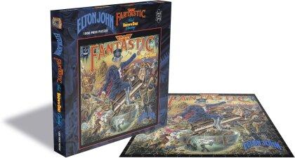 Elton John: Captain Fantastic And The Brown Dirt Cowboy - 1000 Piece Jigsaw Puzzle