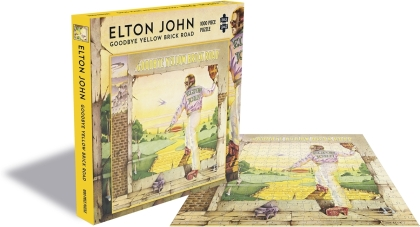 Elton John: Goodbye Yellow Brick Road - 1000 Piece Jigsaw Puzzle