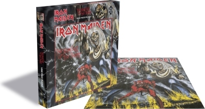Iron Maiden: The Number Of The Beast - 1000 Piece Jigsaw Puzzle