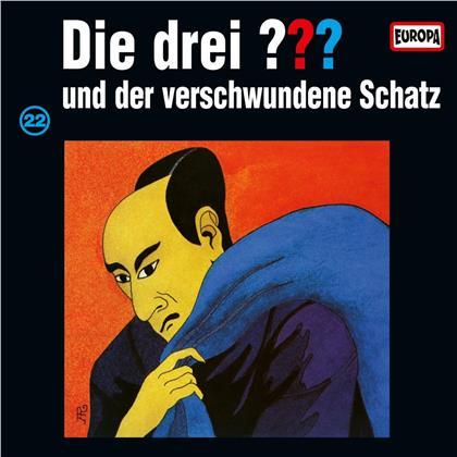 Die Drei ??? - 022 Und Der Verschwundene Schatz (LP)