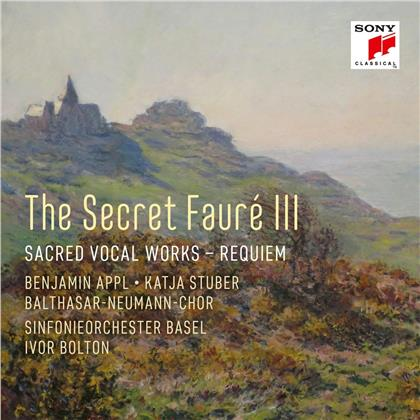 Gabriel Fauré (1845-1924), Ivor Bolton, Benjamin Appl & Sinfonieorchester Basel - The Secret Fauré III