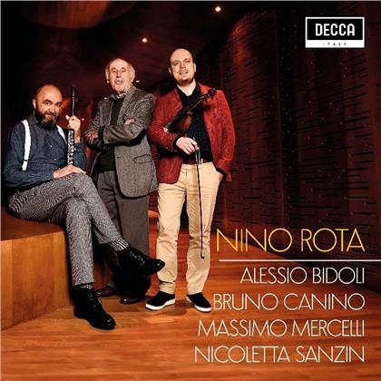 Massimo Mercelli, Nicoletta Sanzin, Nino Rota (1911-1979), Alessio Bidoli & Bruno Canino - Chamber Works
