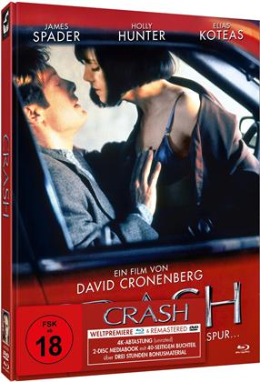 Crash - Classic Cover (1996) (Limited Edition, Mediabook, Blu-ray + DVD)