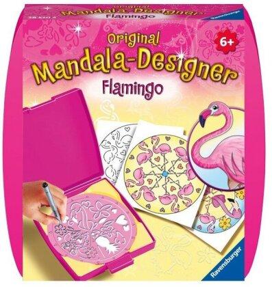 Mini Mandala-Designer Flamingo