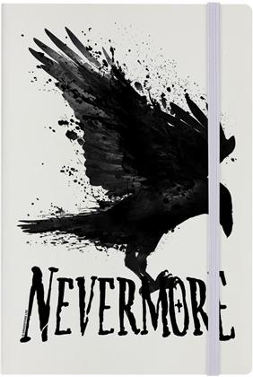 Nevermore - Cream A5 Hard Cover Notebook