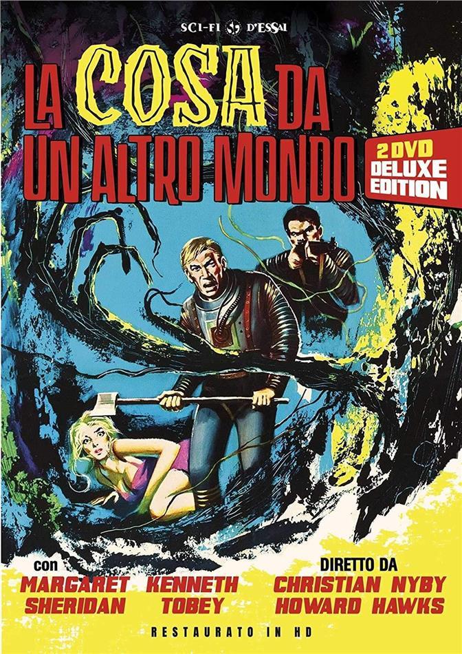 La Cosa da un Altro Mondo (1951) (Sci-Fi d'Essai, restaurato in HD, s/w, Deluxe Edition, 2 DVDs)