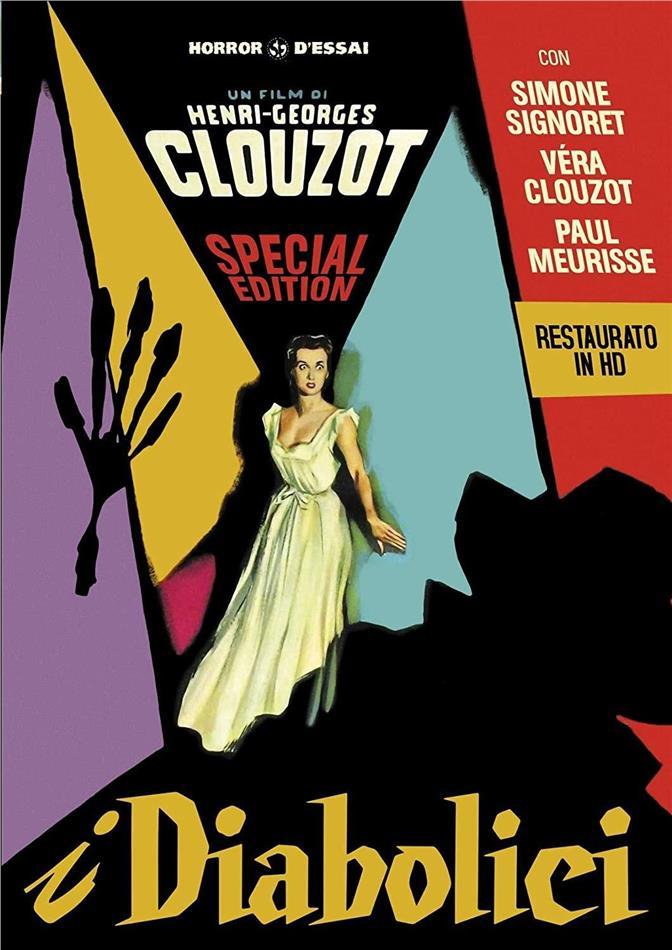 I diabolici (1955) (Horror d'Essai, restaurato in HD, s/w, Special Edition)