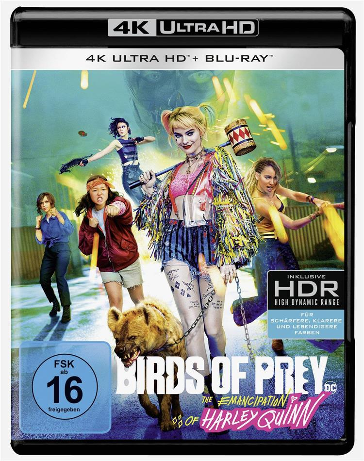 Birds of Prey - The Emancipation of Harley Quinn (2020) (4K Ultra HD + Blu-ray)