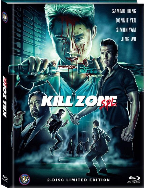 Kill Zone SPL (2005) (Cover B, Edizione Limitata, Mediabook, Blu-ray + DVD)