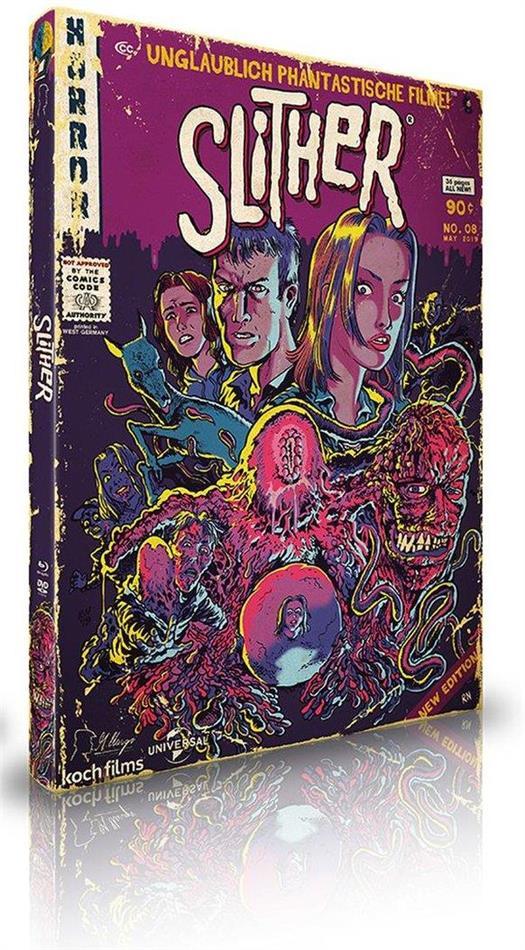 Slither (2006) (UPFC - Unglaublich Phantastische Filme Collection, Limited Edition, Mediabook, Blu-ray + DVD)