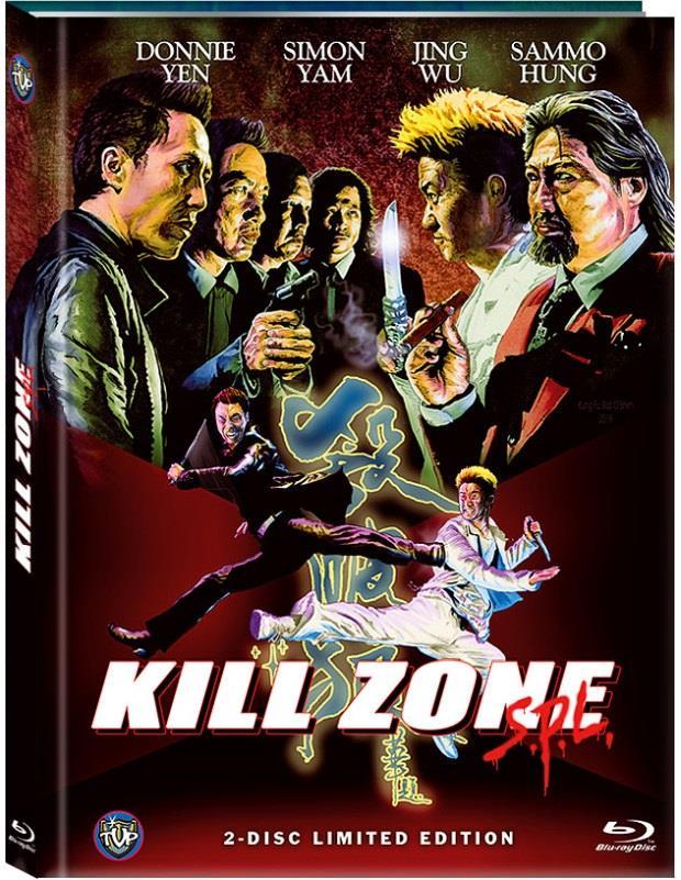 Kill Zone SPL (2005) (Cover C, Limited Edition, Mediabook, Blu-ray + DVD)