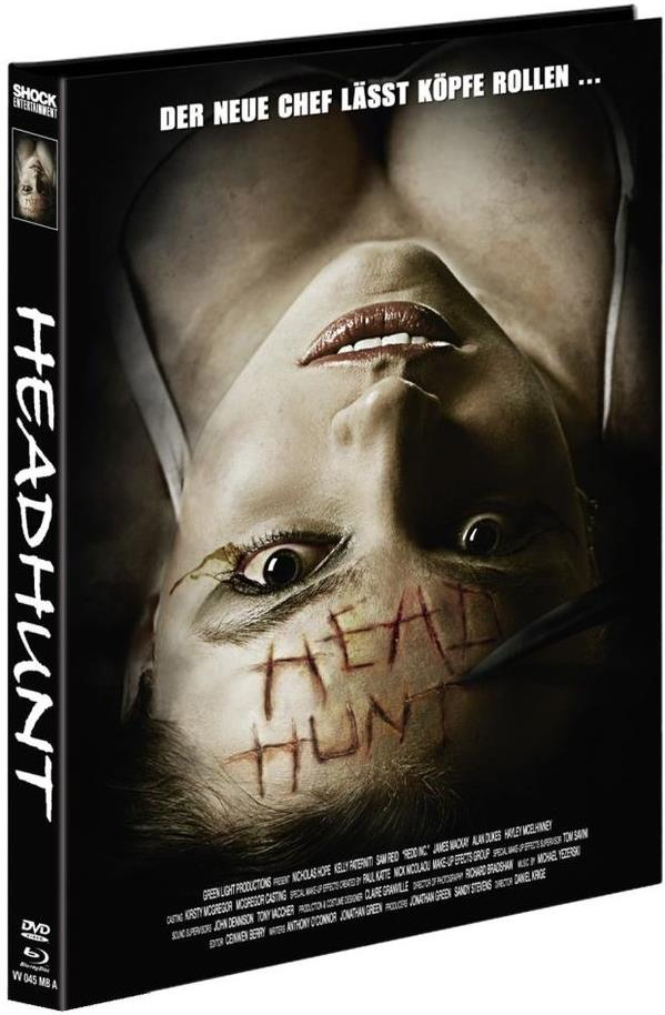 Headhunt (2012) (Cover A, Limited Edition, Mediabook, Blu-ray + DVD)