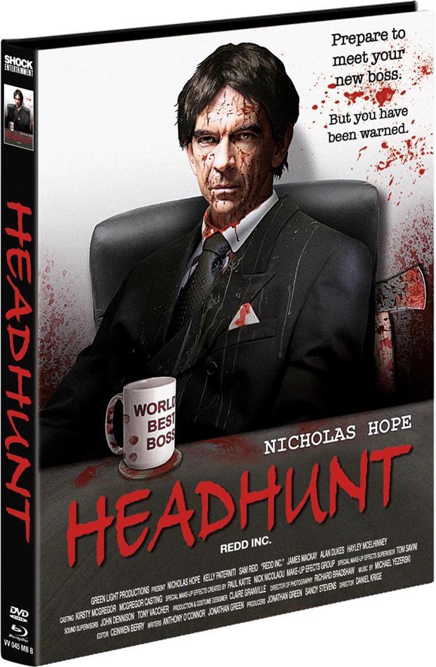 Headhunt (2012) (Cover B, Limited Edition, Mediabook, Blu-ray + DVD)