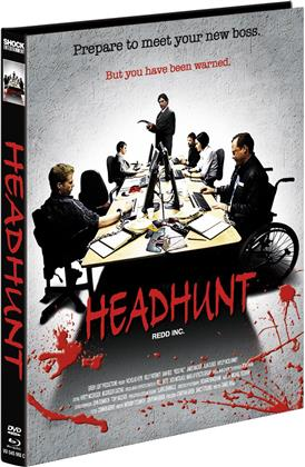Headhunt (2012) (Cover C, Limited Edition, Mediabook, Blu-ray + DVD)