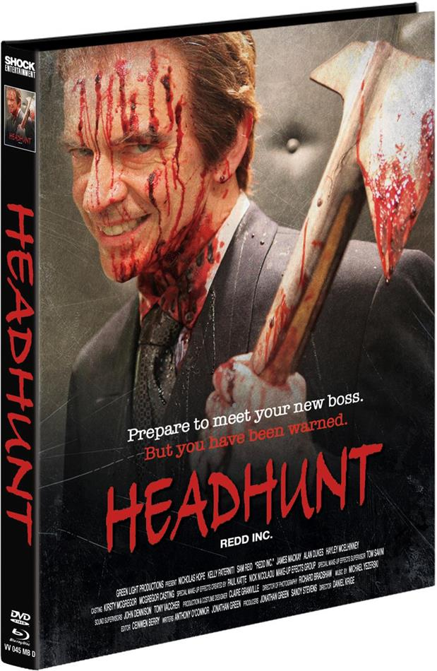 Headhunt (2012) (Cover D, Limited Edition, Mediabook, Blu-ray + DVD)