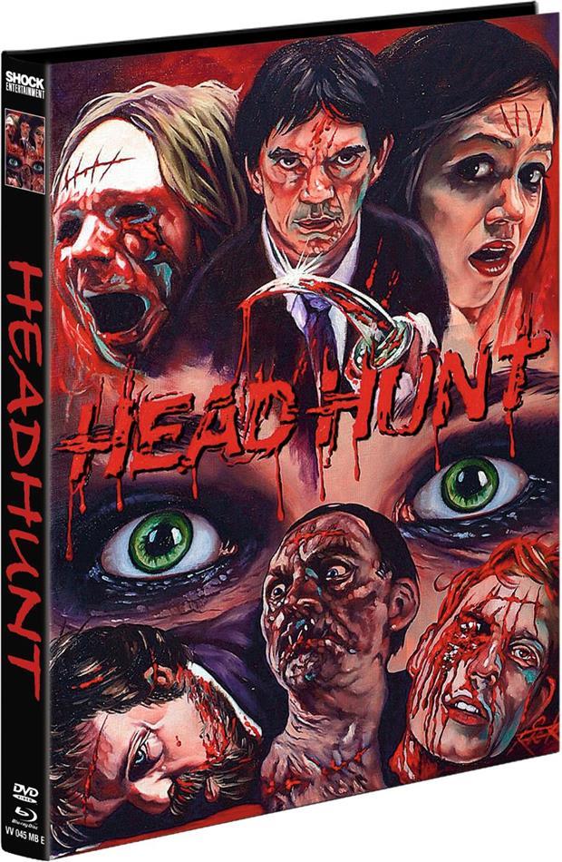 Headhunt (2012) (Cover E, Limited Edition, Mediabook, Blu-ray + DVD)
