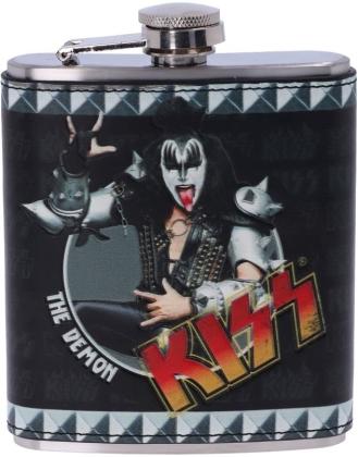Kiss: The Demon - Hip Flask