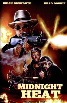 Midnight Heat (1996) (Hardcover, Edizione Limitata, Uncut, Blu-ray + DVD)