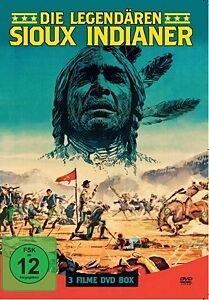 Die legendären Sioux Indianer - Indianer auf dem Kriegspfad / Adlerschwinge / Die vier Gesetzlosen