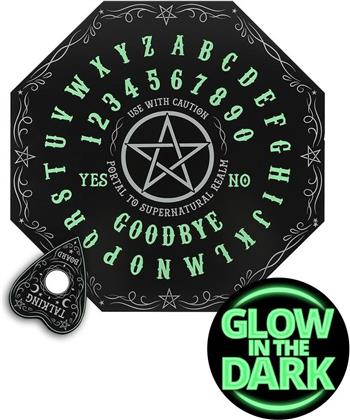 Glow In The Dark Octagon Shaped Spirit Board