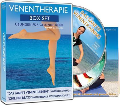 Canda - Venentherapie Box Set: Übungen für gesunde Beine (2 CDs)