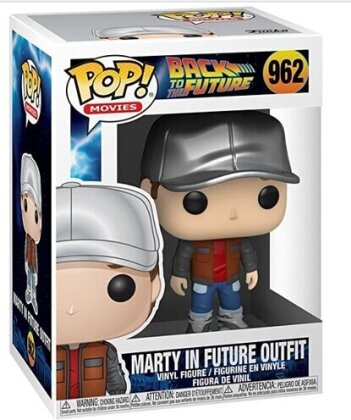 Funko Pop! Movies: - Back To The Future- Marty In Future Outfit