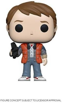 Funko Pop! Movies: - Back To The Future- Marty In Puffy Vest