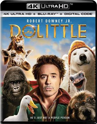 Dolittle (2020) (4K Ultra HD + Blu-ray)