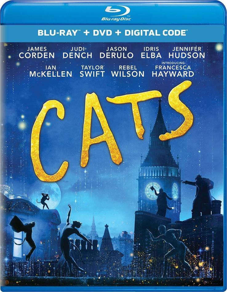 Cats (2019) (Blu-ray + DVD)