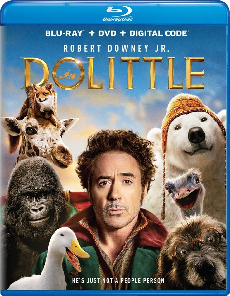 Dolittle (2020) (Blu-ray + DVD)