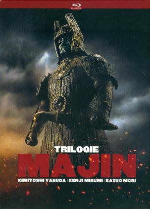 Majin: Trilogie - Majin / Le Retour de Majin / Le Combat Final de Majin (Schuber, Digipack, 2 Blu-rays + 2 DVDs)
