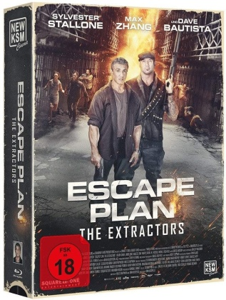 Escape Plan 3 - The Extractors (2019) (Tape Edition, Limited Edition)