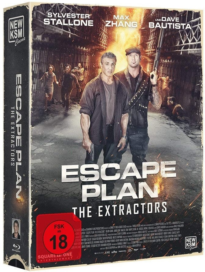 Escape Plan 3 - The Extractors (2019) (Limited Tape Edition)