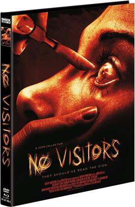 No Visitors (2015) (Cover A, Limited Edition, Mediabook, Blu-ray + DVD)