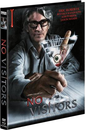 No Visitors (2015) (Cover B, Limited Edition, Mediabook, Blu-ray + DVD)