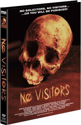 No Visitors (2015) (Cover C, Limited Edition, Mediabook, Blu-ray + DVD)