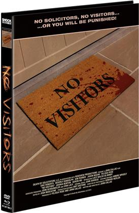 No Visitors (2015) (Cover D, Limited Edition, Mediabook, Blu-ray + DVD)