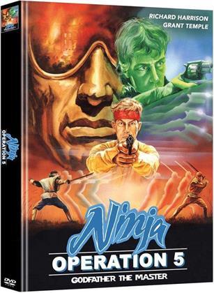 Ninja Operation 5 - Godfather the Master (1988) (Cover A, Edizione Limitata, Mediabook, 2 DVD)