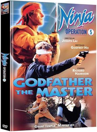 Ninja Operation 5 - Godfather the Master (1988) (Cover B, Edizione Limitata, Mediabook, 2 DVD)