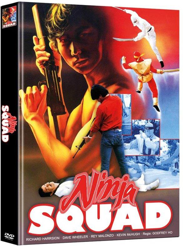 Ninja Squad (1986) (Cover A, Limited Edition, Mediabook, 2 DVDs)