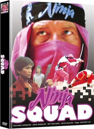 Ninja Squad (1986) (Cover B, Limited Edition, Mediabook, 2 DVDs)