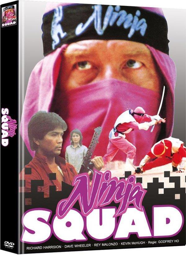 Ninja Squad (1986) (Cover B, Limited Edition, Mediabook, 2 DVDs)