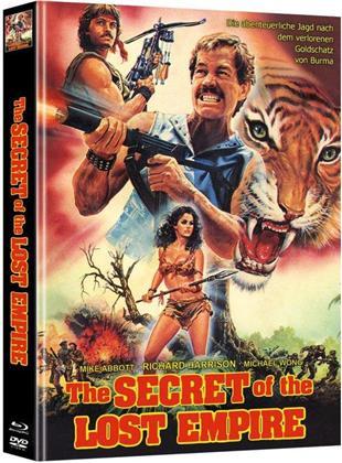 Secret of the Lost Empire (1988) (Cover A, Edizione Limitata, Mediabook, Blu-ray + DVD)