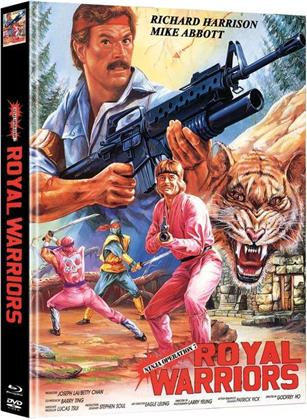 Royal Warriors - Ninja Operation 7 (1988) (Cover C, Edizione Limitata, Mediabook, Blu-ray + DVD)