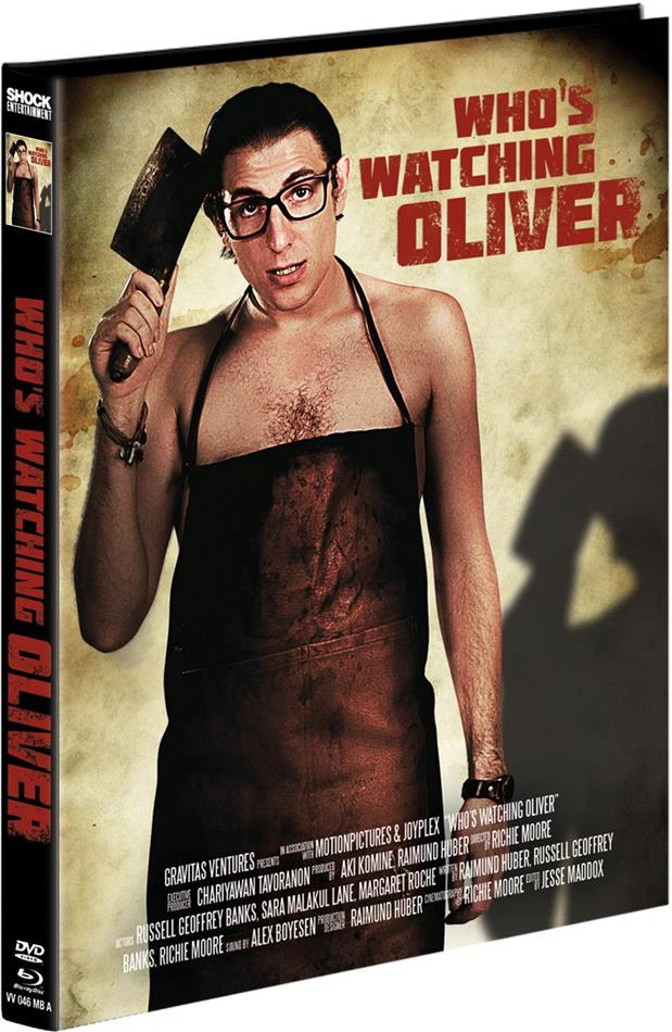 Who's watching Oliver (2017) (Cover A, Limited Edition, Mediabook, Blu-ray + DVD)