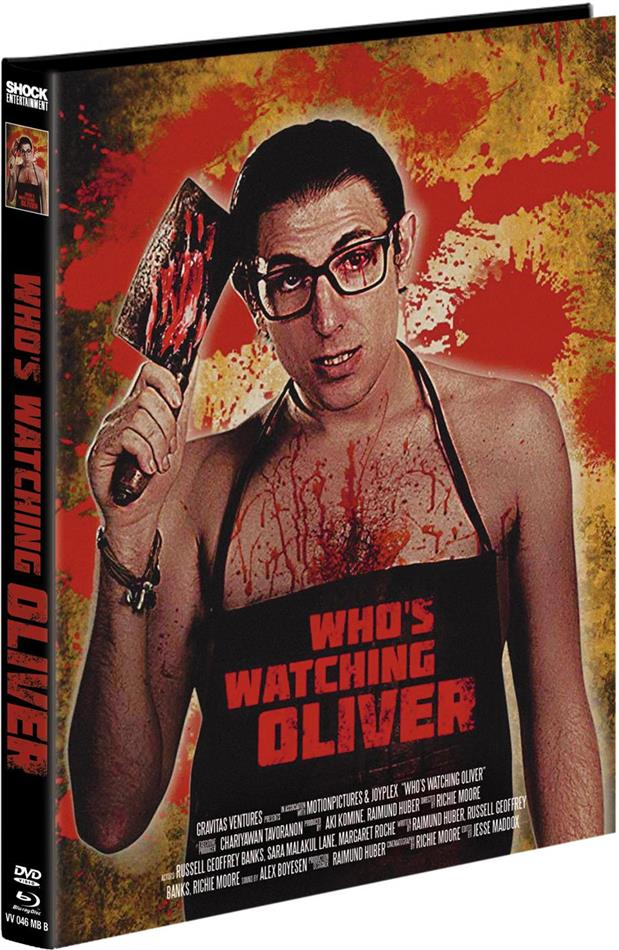 Who's watching Oliver (2017) (Cover B, Limited Edition, Mediabook, Blu-ray + DVD)